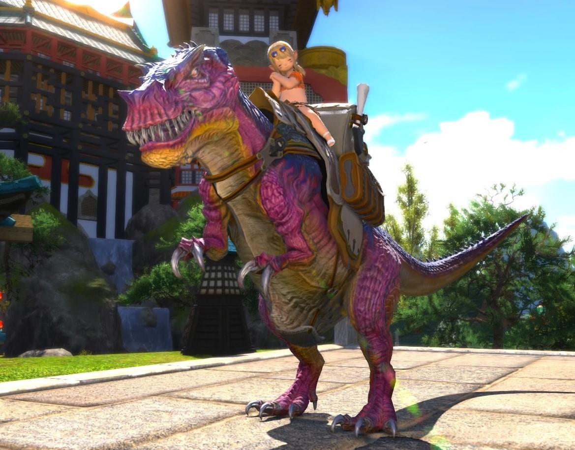ff14 ティラノサウルス
