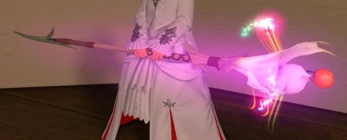 白魔道士モグ武器