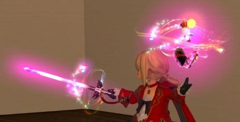 赤魔道士モグ武器